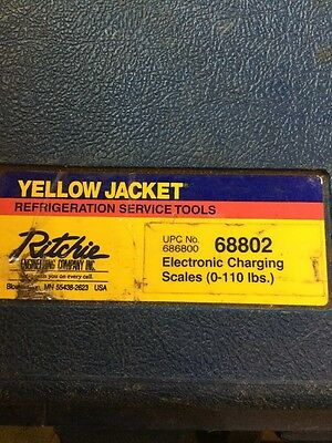 Yellow Jacket Refrigeration Service Tools Electronic Charging Scales 68802