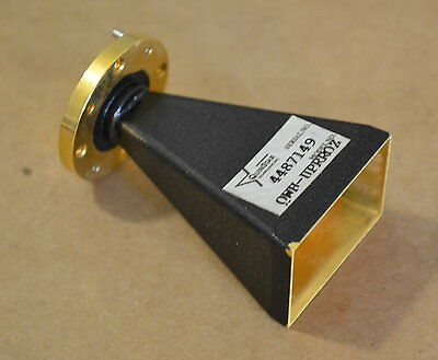 Quinstar QWH-UPRROZ Waveguide Horn Antenna U-Band 40-60GHz, 24db Gain typ NICE