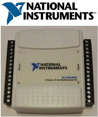 National Instruments USB-6009 Data Acquisition Card, NI DAQ, Multifunction USA