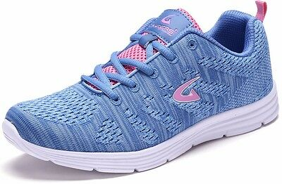 New Women's Sneakers Athletic Blue Tennis Shoes Running Walking Casual Training