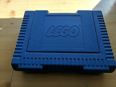 Rare LEGO Classic Vintage Blue Carry Storage Case Travel Box