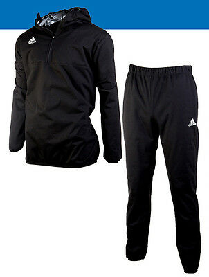 Adidas Hoody Sauna Suit Set ADISS03B Soccer Training Boxing Sweat Jacket Pants
