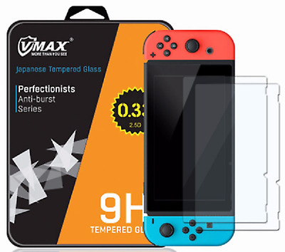 Nintendo Switch Guard - HD Japanese Tempered Glass Screen Protector Shield
