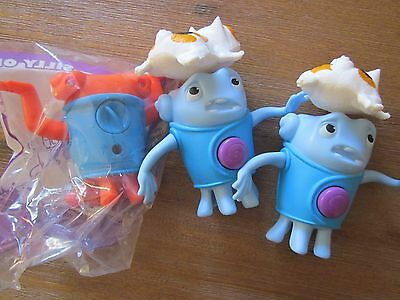 """3 x """"Home"""" toys from McDonalds"""