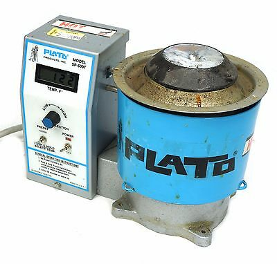 Plato Products SP-500T Precision ESD Solder Pot 925°F 350 W/ LCD Display