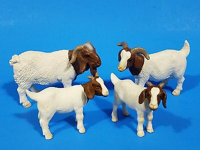 Schleich farm Boer billy goats retired family 1328 13259 13260 RARE