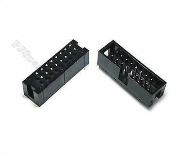 20Pcs 8 Pin 2X 16Pin 2.54MM Straight Box Idc Male Socket Shrouded Header Ic N ee