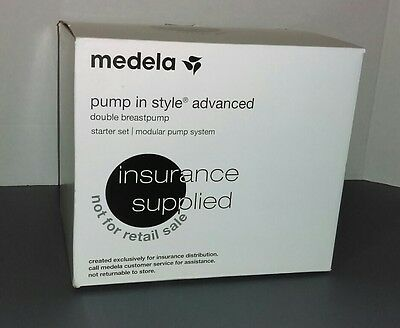 Medela Pump-In-Style Advanced Breastpump NEW OPEN BOX (PUMP AND CHARGER ONLY)