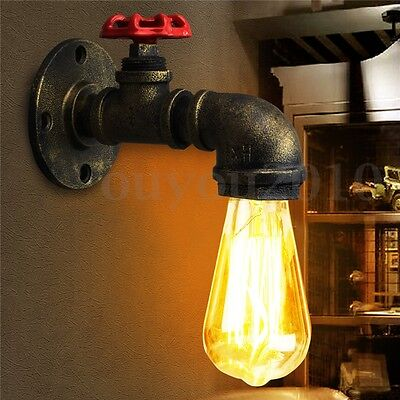 E27 Retro Vintage Industrial Wall Edison Light  Sconce Lamp Bulb Holder Fixture