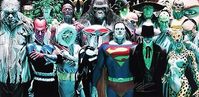 Infinitely Evil Giclee on Canvas by Alex Ross (New)