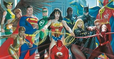 Where Justice Resides Giclee on Canvas by Alex Ross #4/100