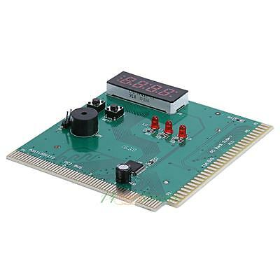 PC PCI 4-Digit Diagnostic Card Motherboard Analyzer Tester Fault Detection Card