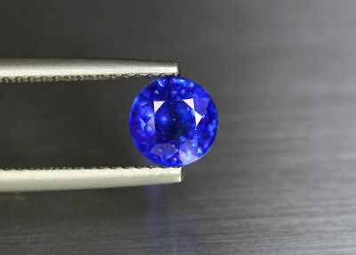 1.49 Cts_Gemstone Collection_Rare To Find_100 % Natural Royal Blue Sapphire