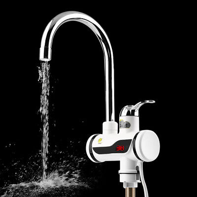 ABS LED Digital Display Instant Heating Electric Water Heater Faucet Tap JN