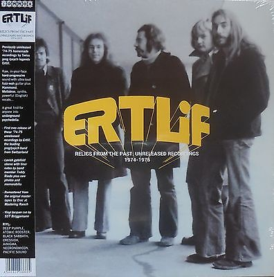ERTLIF relics from the past: unreleased rec. Foldout Sleeve  LP NEU OVP/Sealed