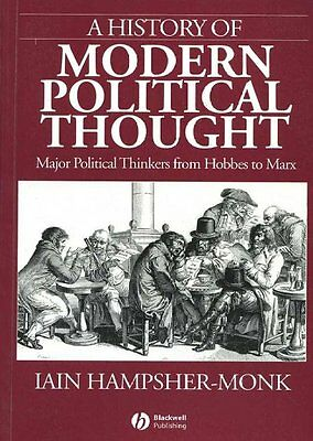 A History of Modern Political Thought, Iain Hampsher–Monk