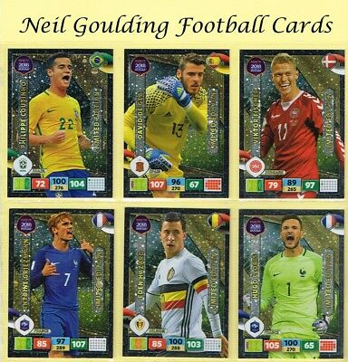 Panini ROAD TO WORLD CUP 2018 ☆☆☆☆☆ LIMITED EDITION ☆☆☆☆☆ Football Cards