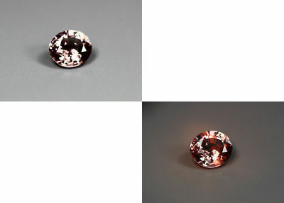 0.88 Cts_Gemstone Collection_100% Natural Unheated Color Change Garnet_Srilanka