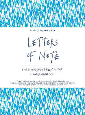 Letters of Note, Shaun Usher
