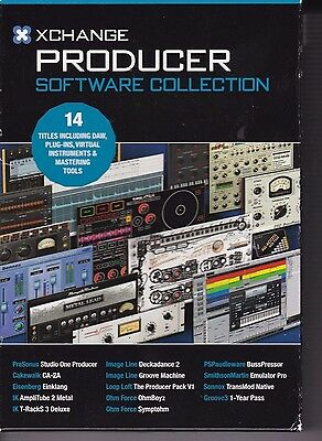 XCHANGE PRODUCER SOFTWARE Collection NEW