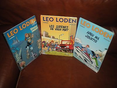 Leo Loden - Lot Des 2 Premiers Tomes En Reeditions