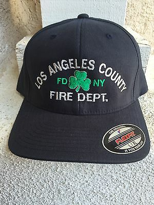 Los Angeles County Fire Department Shamrock Hat.