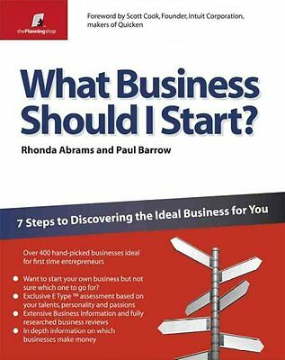 What Business Should I Start?, Rhonda Abrams