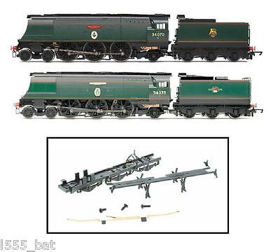 Hornby X8999 bataille d'angleterre Classe Base Du Châssis/ Bas & Pickup Contacts