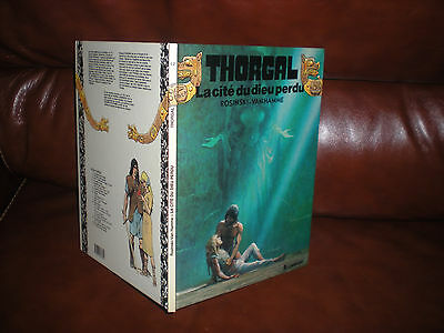 Thorgal N°12 La Cite Du Dieu Perdu - Edition Originale Dl Octobre 1987