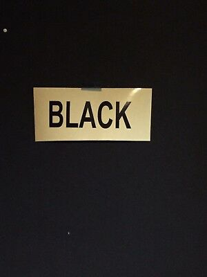 BLACK Reflective Sign Vinyl 12 inch x 5 Feet, Free Shipping,  Oracal Oralite