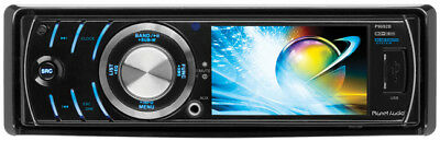 "NEW Planet 3.2"" LCD Single Din DVD/CD Player Bluetooth USB/SD P9692B"