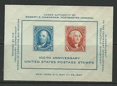 United States - #948 - Cipex Souvenir Sheet (1947) Mnh Anniversary Of Stamps