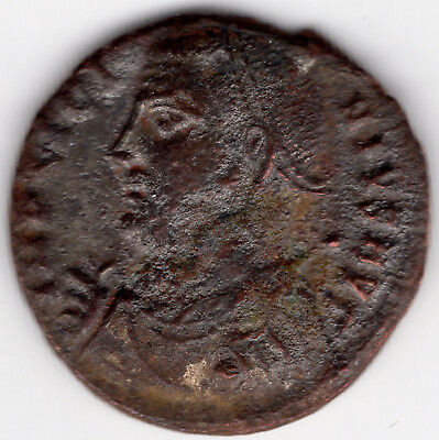 ancient Roman bronze follis Licinius I, 308-324 AD (C105)