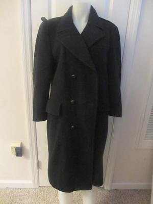 Mens Bloomingdales Mens Store The Boardroom 3 Button Navy Blue Coat Sz 42