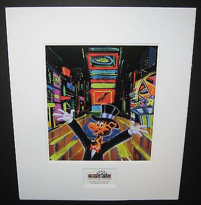 TOYS R US Matted Print Times Square New York Grand Opening November 2001
