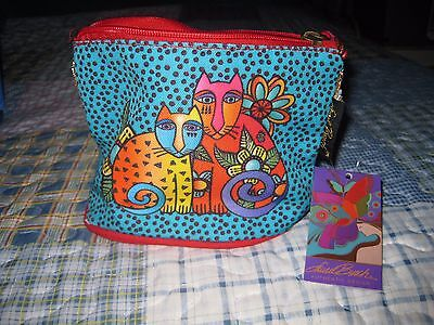 NWT 2 Authentic Laurel Burch Womens Cat Inspired Cosmetic Bags - New With Tags