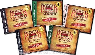 NEW 15 Audiobooks 5 BOXCAR CHILDREN COLLECTION Sets Volume #16 - 20 30 Audio CDs