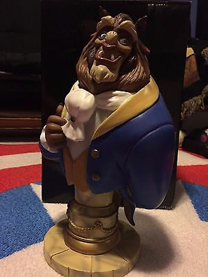Disney Showcase Grand Jester Studios BEAST bust LE #480/3000