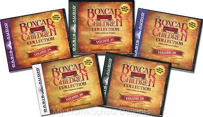 NEW 15 Audiobooks 5 BOXCAR CHILDREN COLLECTION Sets Volumes #26-30 30 Audio CDs