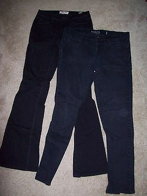Womens Black Pants Lot Of 4 - Small Sized Black Pants Misc Brands Great Shape