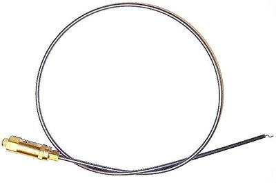 """New 36"""" Bullwhip Throttle Control Cable For Gas Air Compressor Unloader Speed"""
