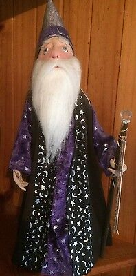 "Cloth Doll Pattern ""Bumbleforth"" the Wizard by Judih Prior"