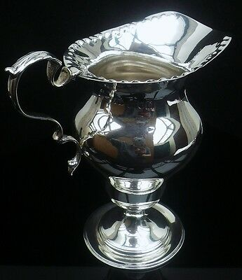 Silver Cream Jug, London 1900, Alfred James How, Antique