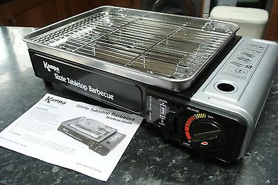 Kampa SizzleTabletop Barbecue Gas Powered Grill NEW