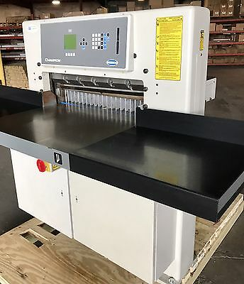 """2001 Challenge Champion 305 XD Hydraulic Progammable Paper Cutter 30-1/2""""  Polar"""
