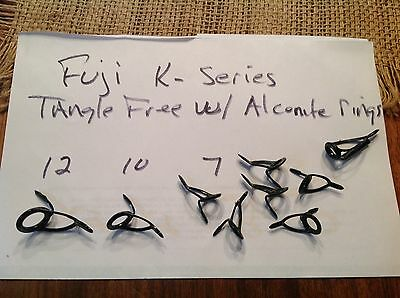 Fuji K series Alconite Surf casting Guides Set