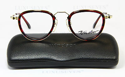 WINDSOR Classic Brille Eyeglasses Occhiali Gafas Lunettes Rare Panto 803 381 51