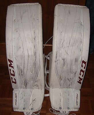 ARIZONA COYOTES Mike Smith game-worn CCM Premier goalie pads from 2016-17 season