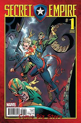 Secret Empire #1 (Of 9) (2017) 1St Print Scarce 1:50 Js Campbell Variant Cover