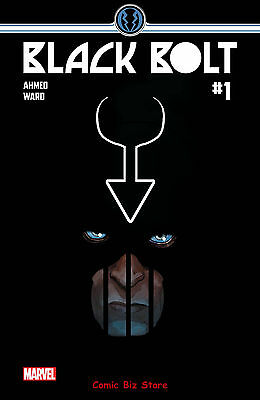 Black Bolt #1 (2017) 1St Printing Bagged & Boarded